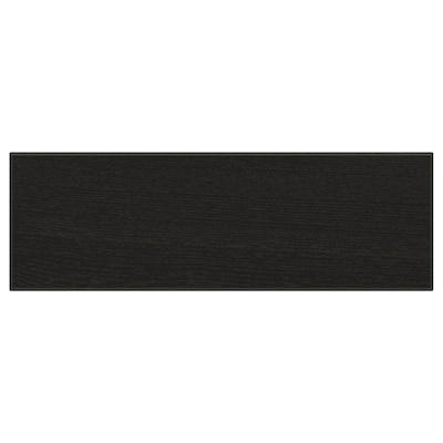 "LERHYTTAN drawer front black stained 14 7/8 "" 5 "" 15 "" 4 7/8 "" 3/4 """