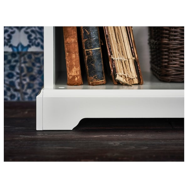 LIATORP Bookcase, white, 37 3/4x84 1/4 ""