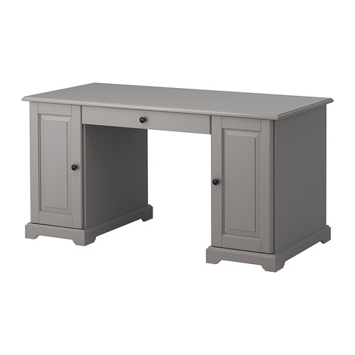liatorp desk gray ikea. Black Bedroom Furniture Sets. Home Design Ideas