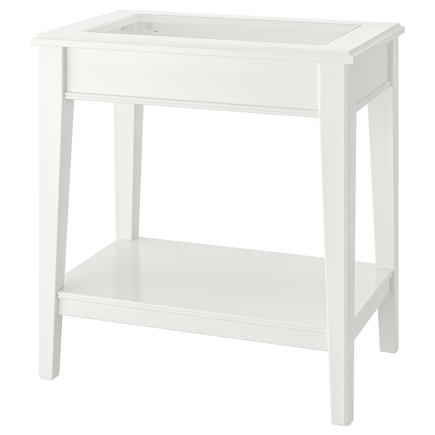 Picture of: Liatorp Side Table White Glass 22 1 2×15 3 4 Ikea