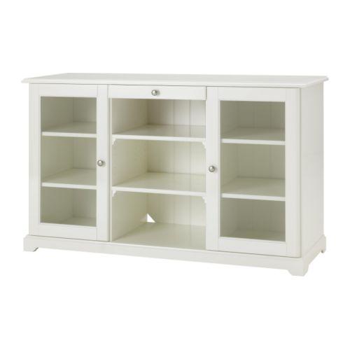 LIATORP Sideboard, white white 57 1/8x34 1/4