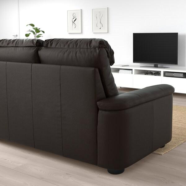 "LIDHULT sofa Grann/Bomstad dark brown 40 1/8 "" 29 7/8 "" 102 "" 38 5/8 "" 2 3/4 "" 83 1/8 "" 20 7/8 "" 17 3/4 """