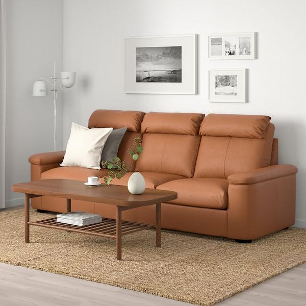 "LIDHULT sofa Grann/Bomstad golden brown 40 1/8 "" 29 7/8 "" 102 "" 38 5/8 "" 2 3/4 "" 83 1/8 "" 20 7/8 "" 17 3/4 """