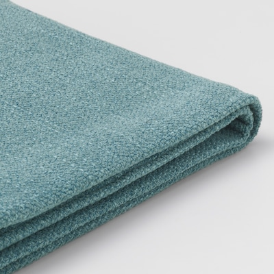 """LIDHULT cover for chaise section Gassebol blue-gray 35 3/8 """" 63 """" 37 3/8 """" 35 3/8 """" 50 3/8 """" 16 1/2 """""""
