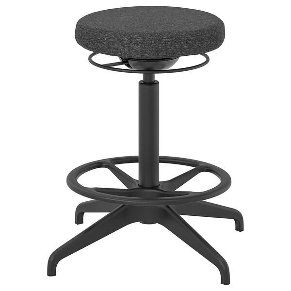 """LIDKULLEN sit/stand support Gunnared dark gray 243 lb 15 """" 23 5/8 """" 23 1/4 """" 31 7/8 """""""