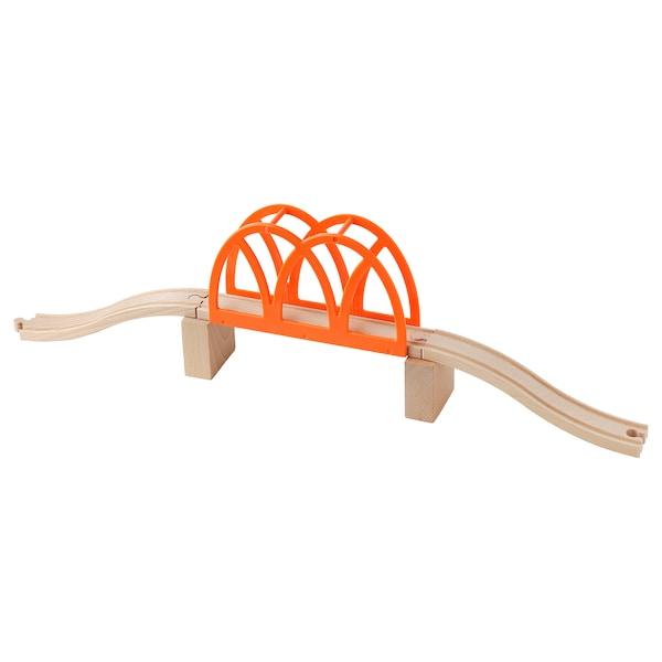 IKEA LILLABO 5-piece train bridge set