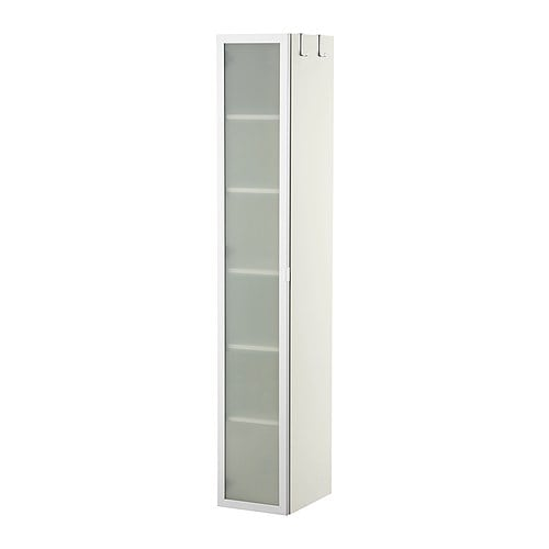 lill ngen high cabinet white aluminum ikea