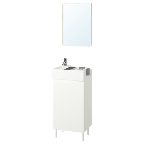IKEA LILLÅNGEN / LILLÅNGEN Bathroom furniture, set of 5
