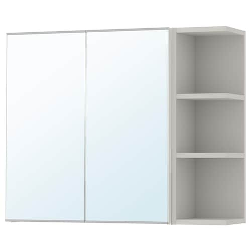 IKEA LILLÅNGEN Mirror cabinet 2 doors/1 end unit