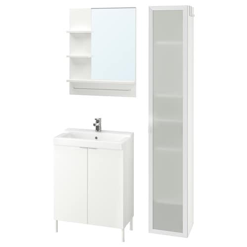 IKEA LILLÅNGEN / TÄLLEVIKEN Bathroom furniture, set of 6