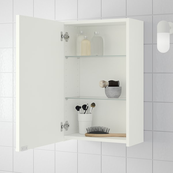 "LILLÅNGEN Wall cabinet, white, 15 3/4x8 1/4x25 1/4 """