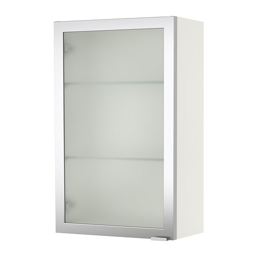 Lill Ngen Wall Cabinet White Aluminum Ikea