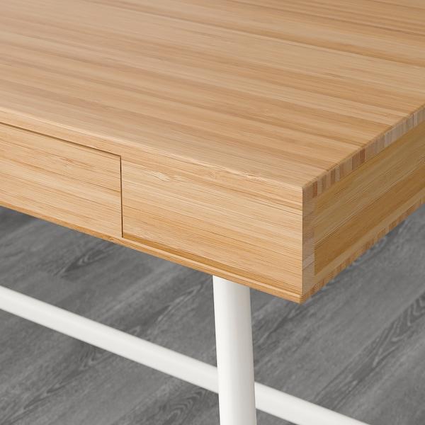 """LILLÅSEN Desk, bamboo, 40 1/8x19 1/4 """""""