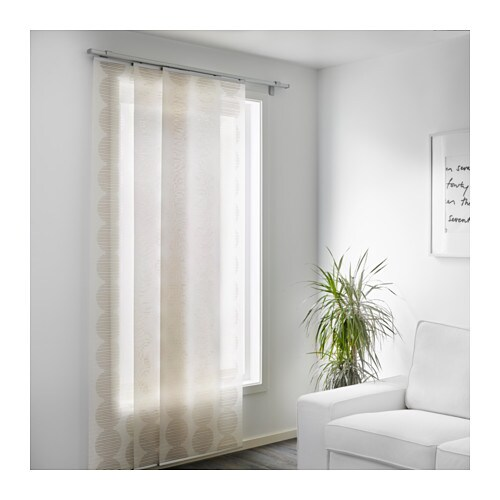 Curtains Ideas curtain panels ikea : LILLERÖD Panel curtain - IKEA