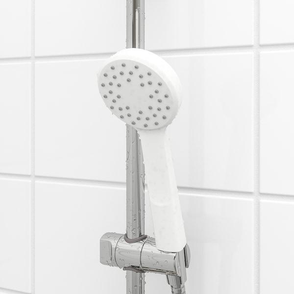 LILLREVET Single-spray hand held shower head, white