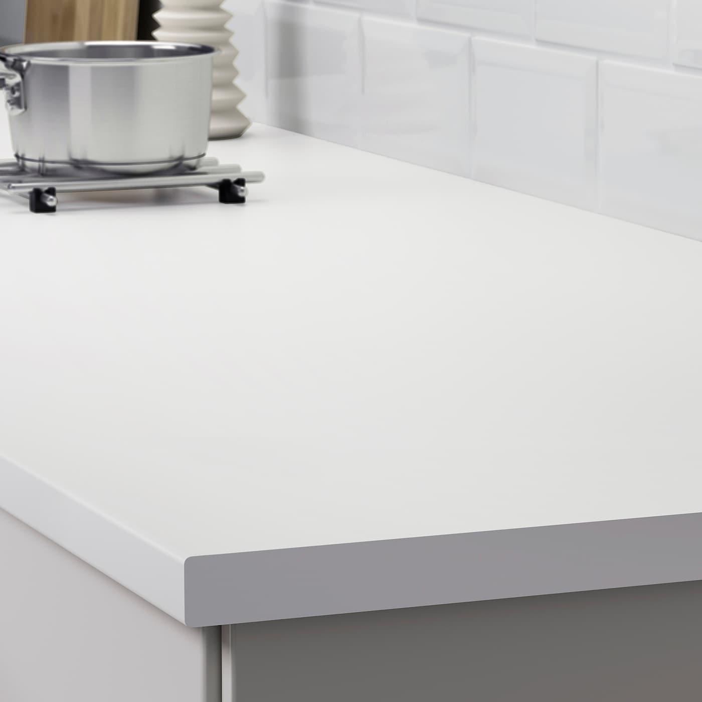 Countertop White Laminate 98x1