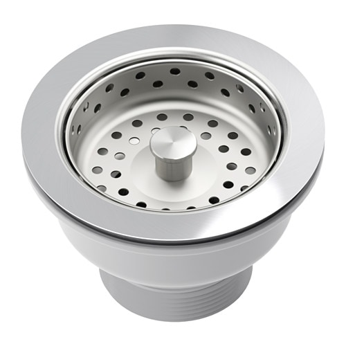 kitchen sink strainer plug lillviken sink strainer with stopper ikea 5975