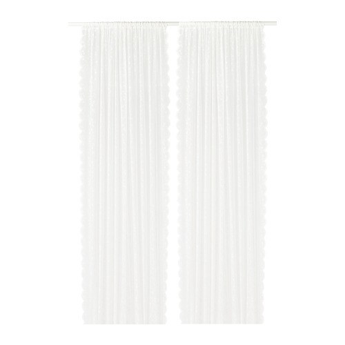 LILLYANA Sheer Curtains 1 Pair