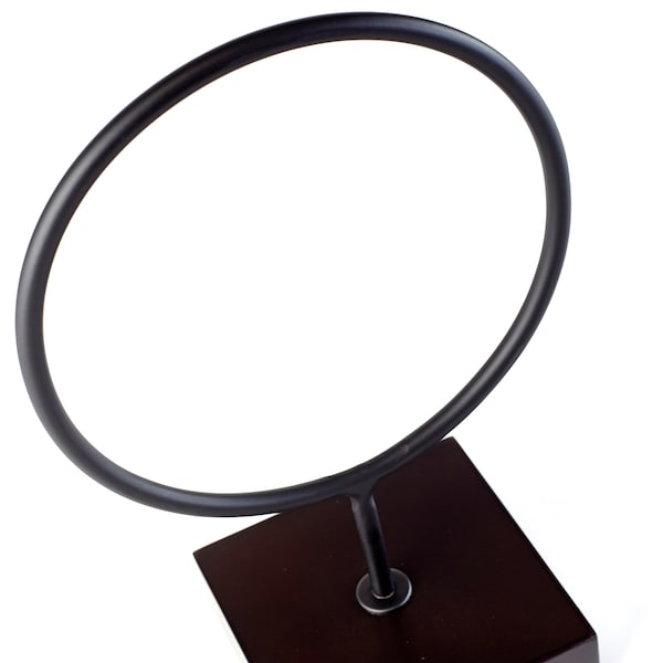 LINDRANDE Decoration, circle black, 11 ½ ""