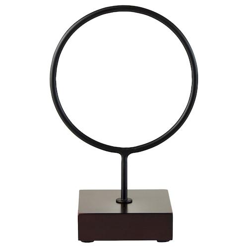 "LINDRANDE decoration circle black 6 ¼ "" 4 "" 9 ¾ """