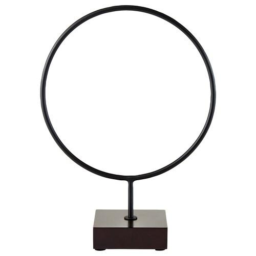 "LINDRANDE decoration circle black 9 ½ "" 4 "" 13 """