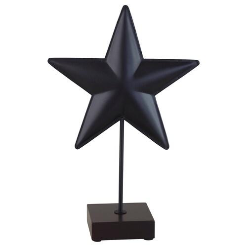 "LINDRANDE decoration star black 8 ¾ "" 4 "" 14 ¼ """