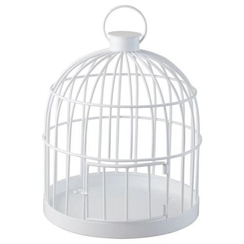 "LINDRANDE decoration cage white 11 "" 9 ½ """