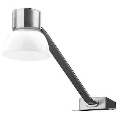 LINDSHULT LED cabinet light, nickel plated