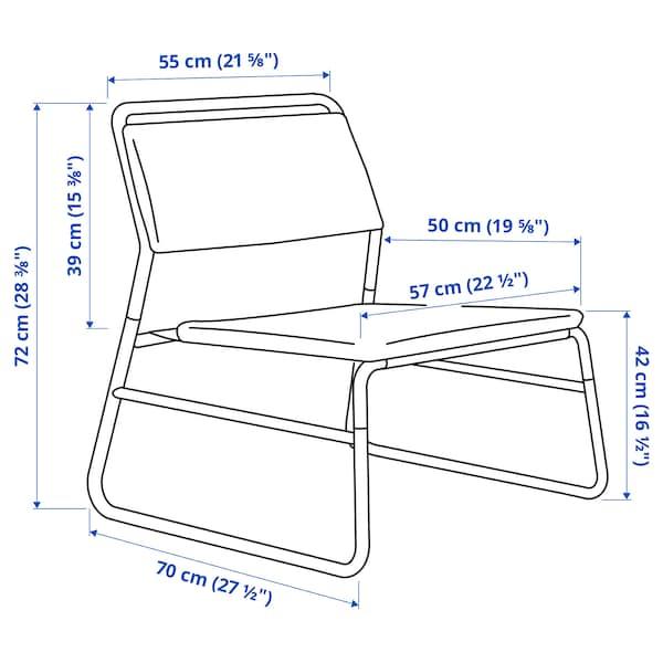 LINNEBÄCK Chair, Vissle dark gray