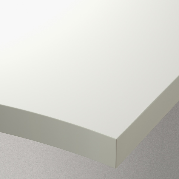 "LINNMON Corner table top, white, 47 1/4x47 1/4 """