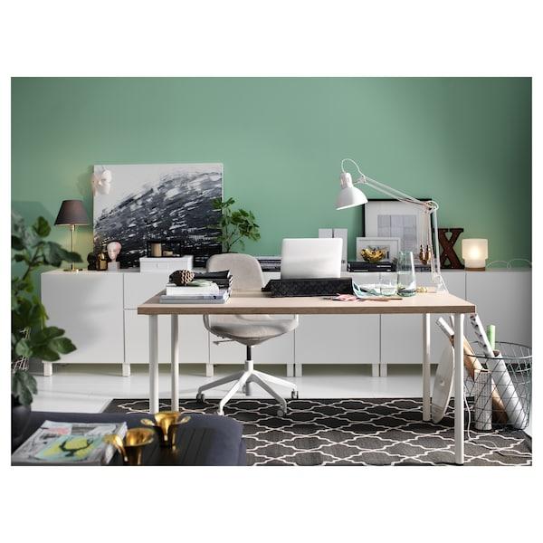 Linnmon Tabletop Beige 59x29 1 2 Ikea