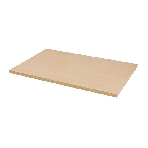 Linnmon table top birch effect ikea - Ikea plateau de table ...