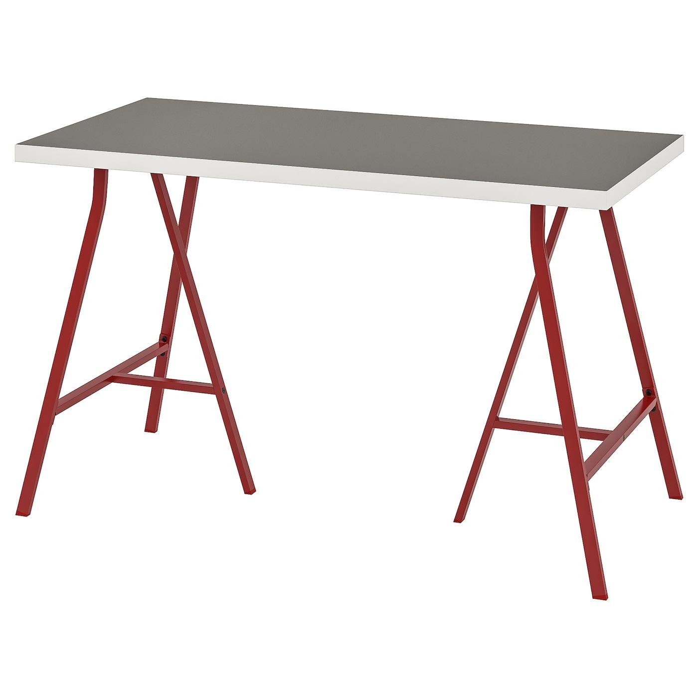 Linnmon Tabletop Light Gray White 47 1 4x23 5 8 Ikea