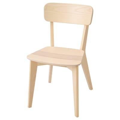 """LISABO chair ash 243 lb 17 3/8 """" 20 1/8 """" 31 1/2 """" 17 3/8 """" 15 3/8 """" 17 3/4 """""""