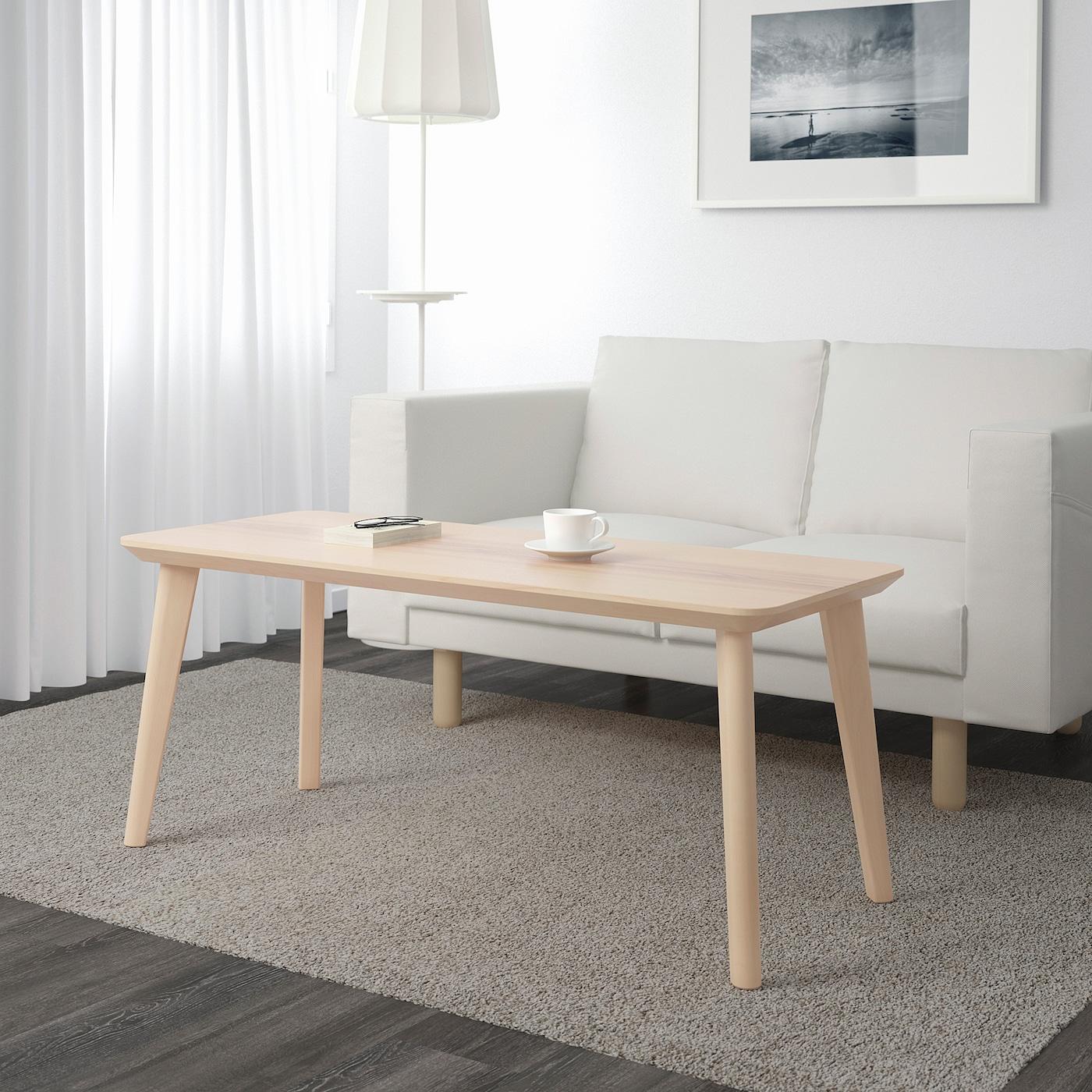 Inside Design Salontafel.Lisabo Coffee Table Ash Veneer 46 1 2x19 5 8 Ikea