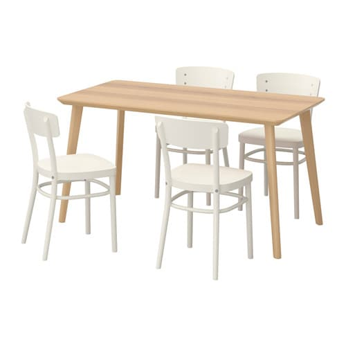 lisabo idolf table and 4 chairs ikea easy to assemble as each leg has only assembling ikea chair