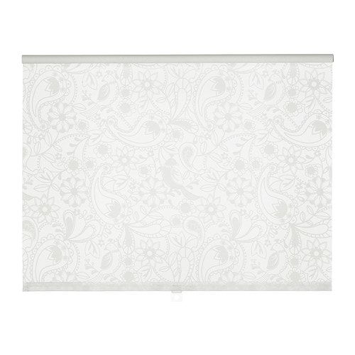 LISELOTT Roller blind IKEA The blind is cordless for increased child safety. Can be mounted inside or outside the window frame, or in the ceiling.