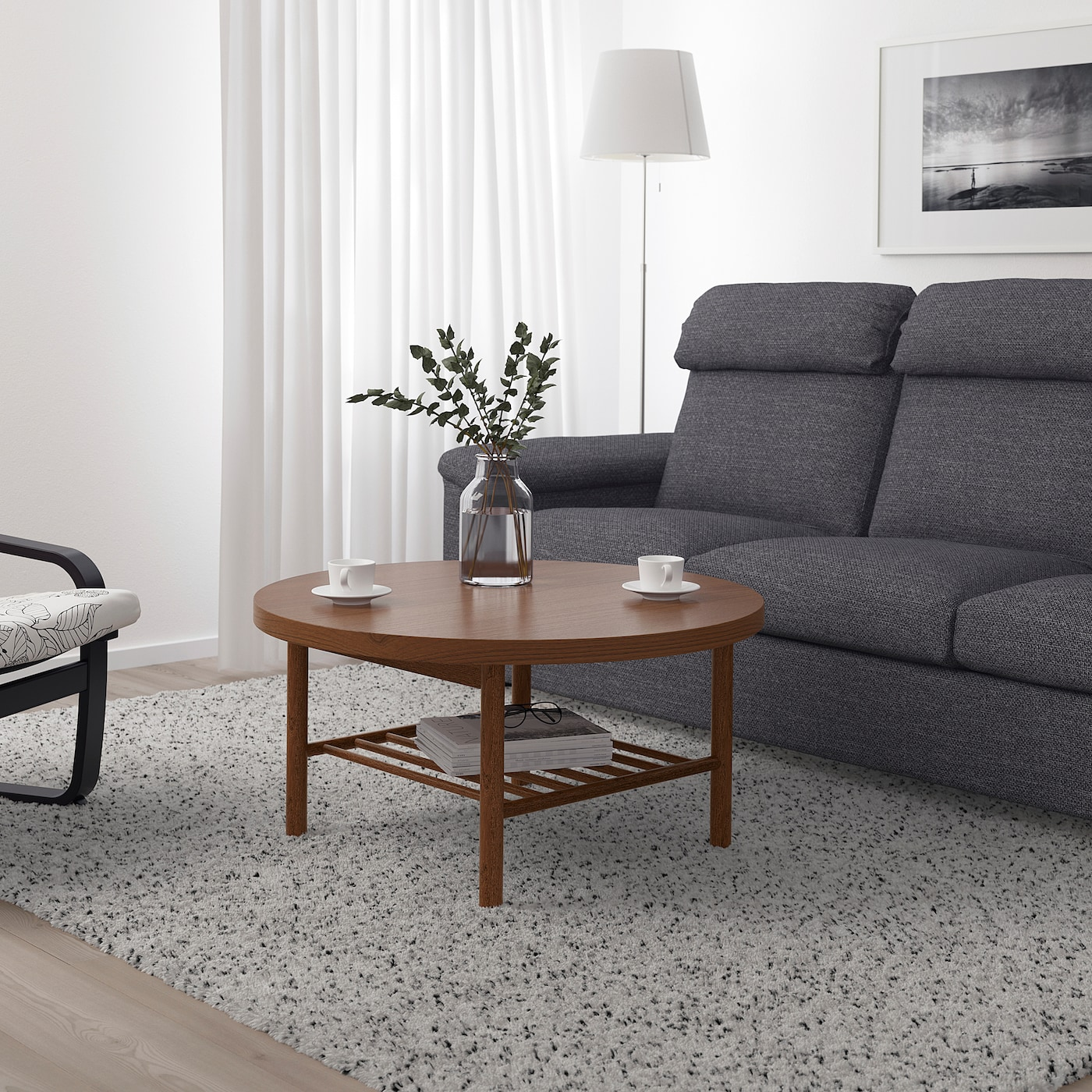 Picture of: Listerby Coffee Table Brown 35 3 8 Ikea