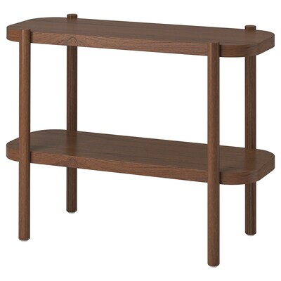 LISTERBY Console table, brown, 36 1/4x15x28 ""
