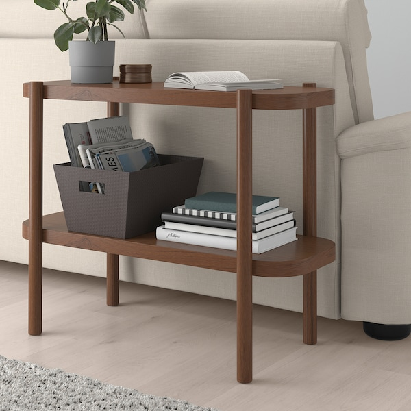 """LISTERBY Console table, brown, 36 1/4x15x28 """""""