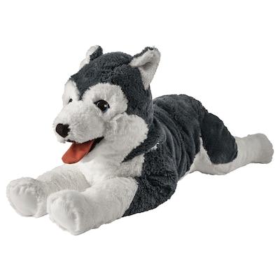 "LIVLIG Soft toy, dog/siberian husky, 22 1/2 """