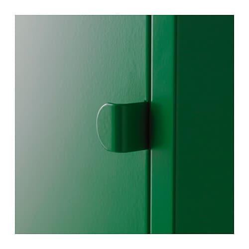 Lixhult Cabinet Metal Green Ikea