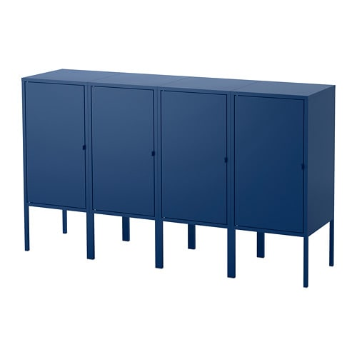 Genial LIXHULT Storage Combination. LIXHULT. Storage Combination, Dark Blue