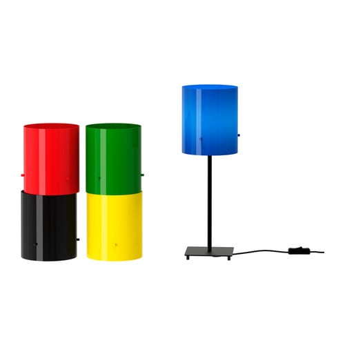 LÖBBO Shade IKEA Adjustable fitting; can be used both with lamp bases and with ceiling cord sets with big or small light bulbs.