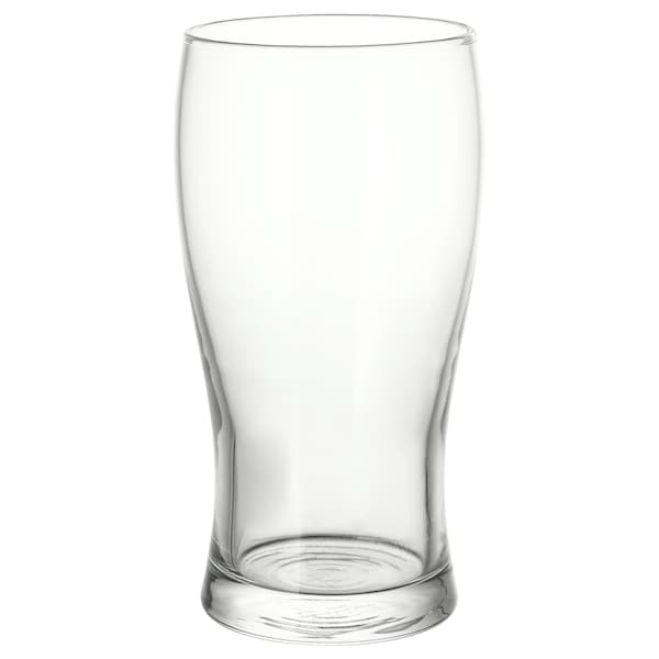 "LODRÄT beer glass clear glass 6 "" 17 oz"