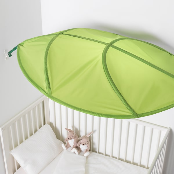 LÖVA Bed canopy, green