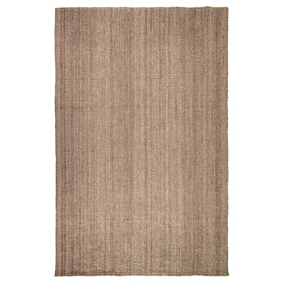 "LOHALS Rug, flatwoven, natural, 6 ' 7 ""x9 ' 10 """