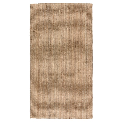"LOHALS rug, flatwoven natural 4 ' 11 "" 2 ' 7 "" ½ "" 12.92 sq feet 10.49 oz/sq ft"
