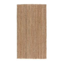 LOHALS rug, flatwoven, natural