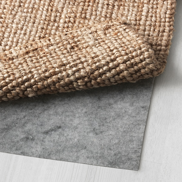 "LOHALS rug, flatwoven natural 7 ' 7 "" 5 ' 3 "" ½ "" 39.61 sq feet 10 oz/sq ft"